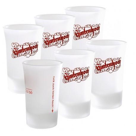 Schnabus-Gläschen, Paket zu 6 Gläsern